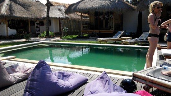 Bombora Bungalows: View of the pool
