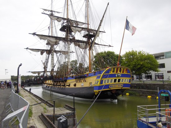 Rochefort, France : l'hermione