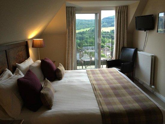 Knockendarroch Hotel & Restaurant: Balcony room