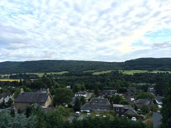Knockendarroch Hotel & Restaurant: View from Balcony Room