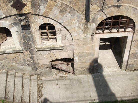 Festung Königstein: im Hof