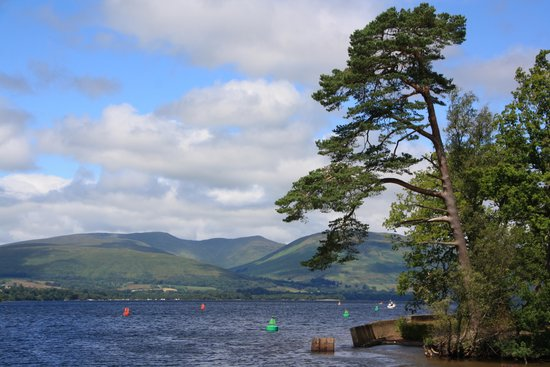 Loch Lomond: Beautiful Loch Lomand near Balloch