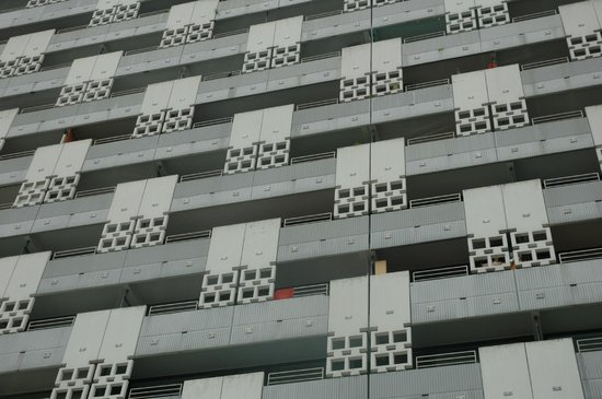 Sheraton München Arabellapark Hotel: Facade