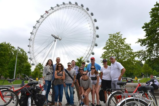 Fat Tire Bike Tours - London: THE LONDON EYE