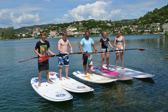 Villa Solo: paddle boarding