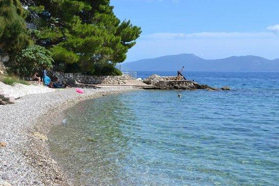 Villa Solo: local beach