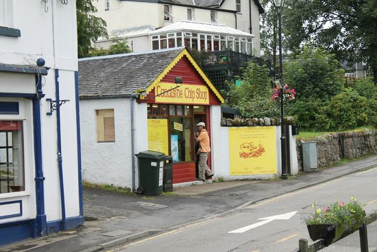 Canal Side Chip Shop: Entrata