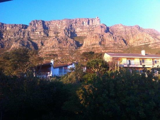 Blue Sky B&B: Blick Richtung Tafelberg