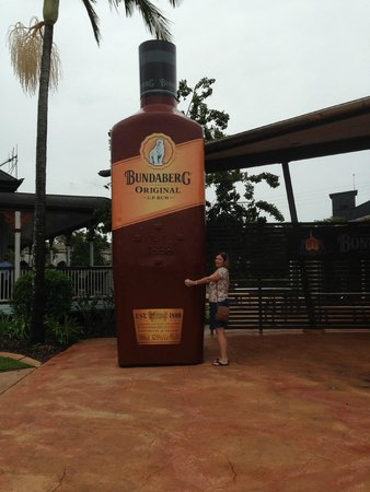 Bundaberg Rum Distillery: Now that's a rum bottle