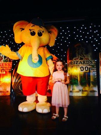 Broadland Sands Holiday Park - Park Holidays UK: Grace with Olly the Elephant.
