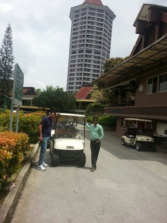 Awana Hotel: Golf course @ Awana Resort