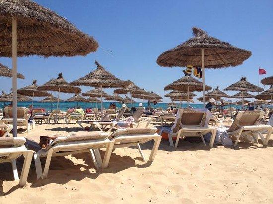Vincci Nozha Beach Resort: Sur la plage