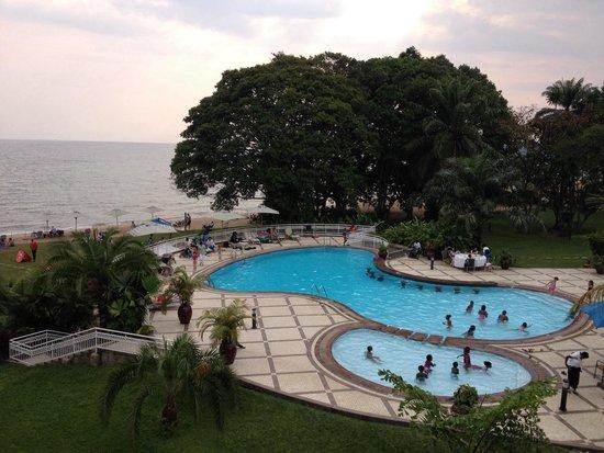 Lake Kivu Serena Hotel : View from room