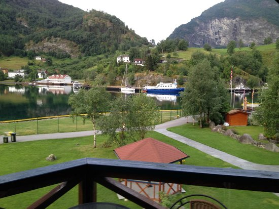 Flamsbrygga Hotell: From the Balcony
