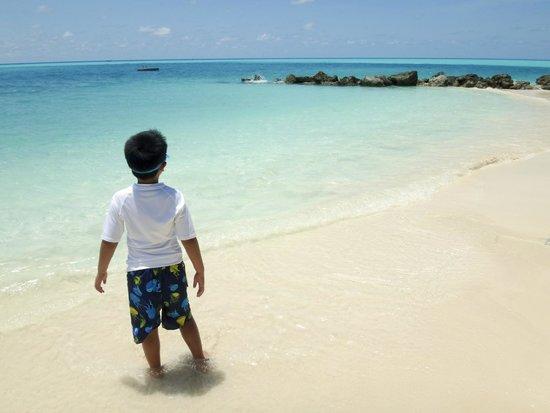 Pompano Beach Club: Clear clean water and beach