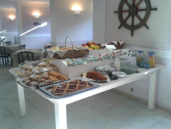 Hotel Delfino : colazione