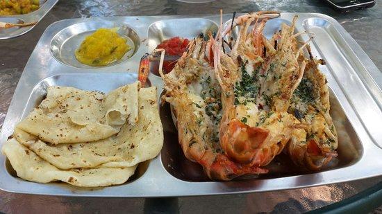 Cabane Du Filao: King prawns