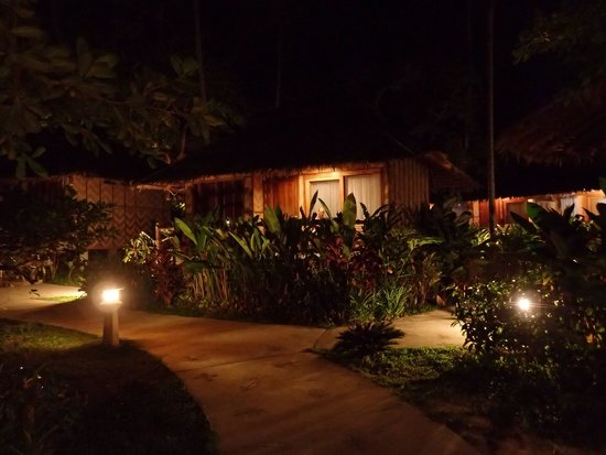 Betterview Bed Breakfast & Bungalow : At night