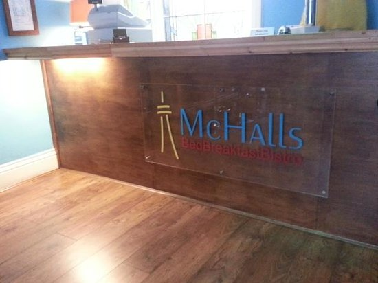 McHalls Bistro: This is the place to go.7 Lord St.