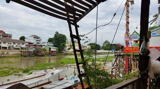 Baan Are Gong Riverside Homestay: view from restaurant