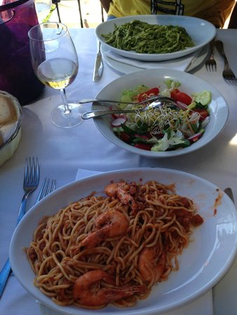 Trattoria Dal Billy: our table