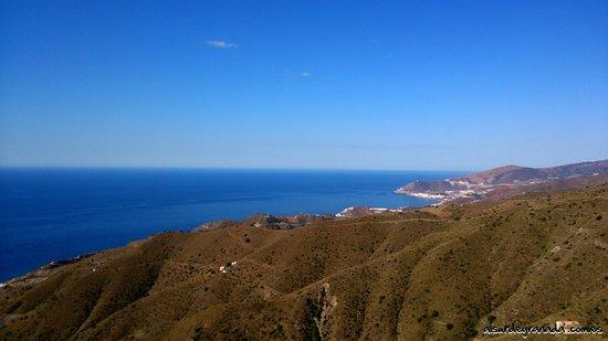 Sorvilan, Spain: Vista de la Costa Tropical