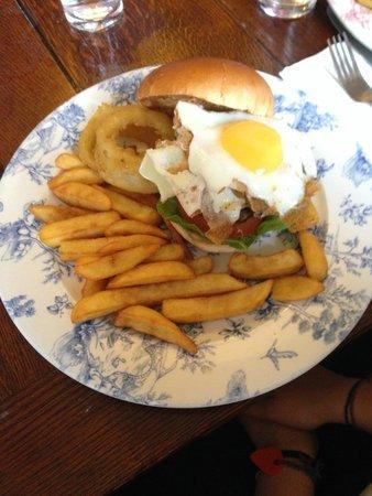 The Didsbury Pub: Great Burger!!
