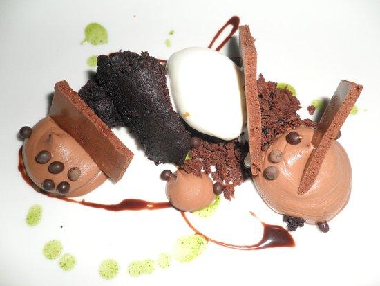 Restaurant August : Dessert - Mint Chocolate