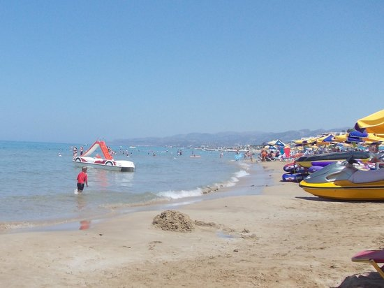 smartline Village Resort & Waterpark: spiaggia