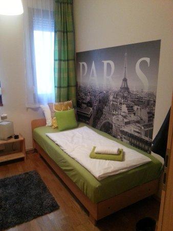 Central Passage Budapest Apartments : stanza singola
