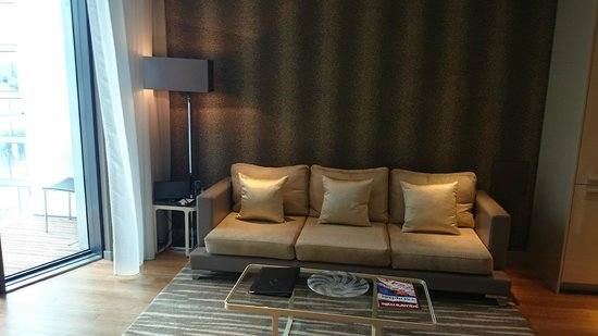 Cheval Three Quays: Room Seating