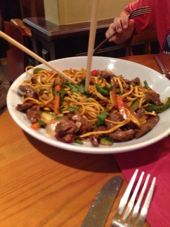 The Pepperstack: Beef with noodles