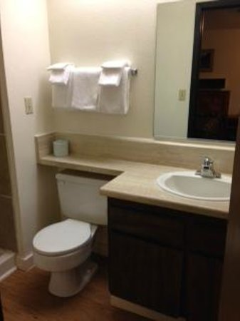 Bryce Pioneer Village: バスルーム