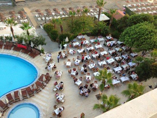 Anitas Hotel: vue
