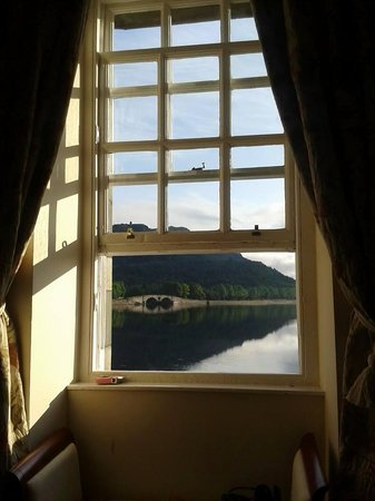 Inveraray Townhouse and Loft: View from King 4 Poster Room