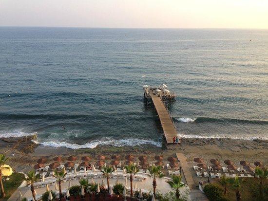 Anitas Hotel: vue de la mer