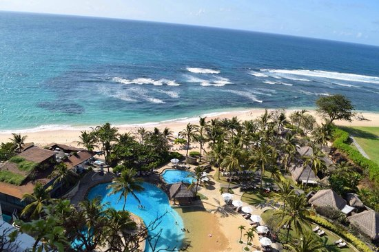 Hilton Bali Resort: View from cliff tower
