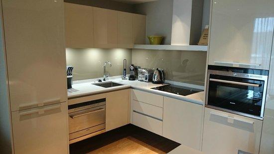 Cheval Three Quays: Kitchen