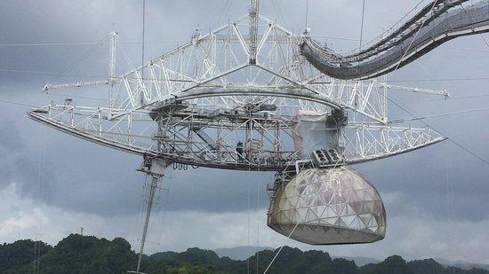 Arecibo Observatory: Amazing view