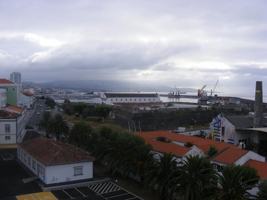 Vila Nova Hotel: view from balcony