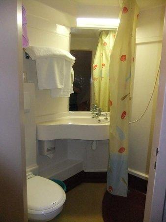 Hotel Estival-Arriel : douche
