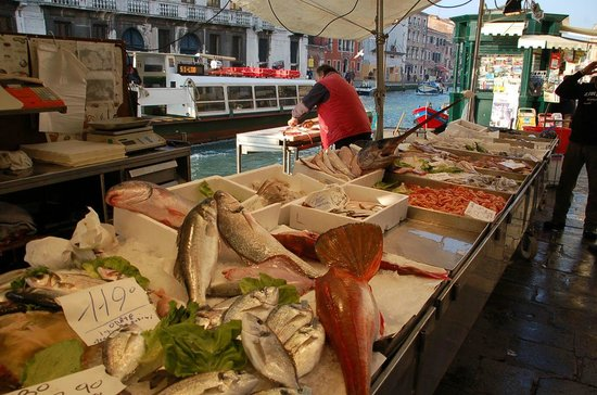 Fish market in Cannaregio
