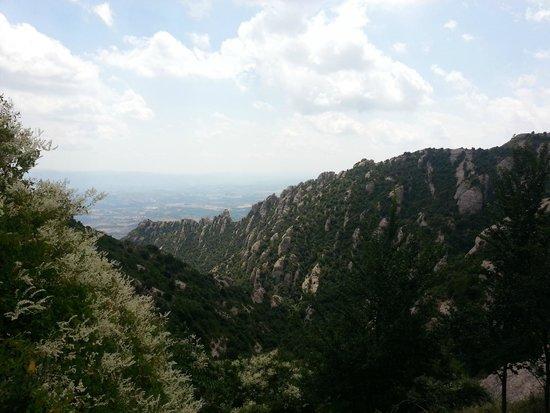 Barcelona Turisme - Afternoon in Montserrat Tour : uitzicht