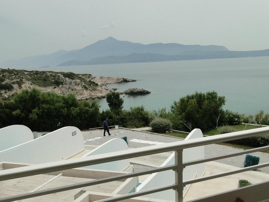 Proteas Blu Resort: Blick vom Balkon Zimmer 705