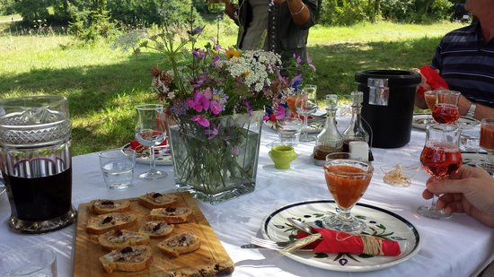 Bergerac Wine Tours: lunch