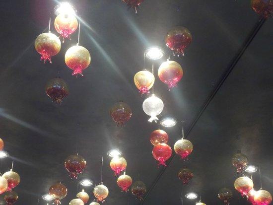 Mlýnec Restaurant : Pretty ceiling lights