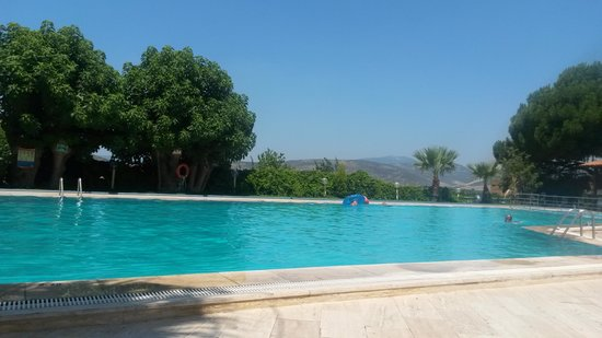 Hitit Hotel : great view at the swimming pool
