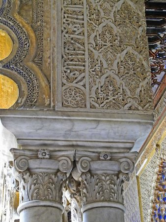 Real Alcázar: Säule mit Kapitell