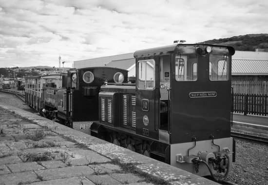 Vale of Rheidol Railway: At the end of the day