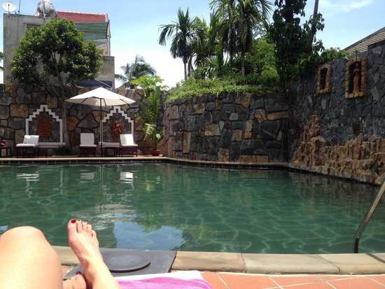 Lotus Hoi An Boutique Hotel & Spa : Beautiful, calm pool